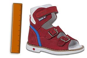 Зачем в ортопедической обуви высокий задник?
