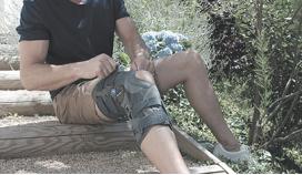 Бандажи на колено (наколенники)