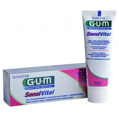 Зубная паста GUM SensiVital для чувствительных зубов, 75 ml