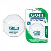 Зубная нить GUM Butlerweave Mint Waxed с привкусом мяты