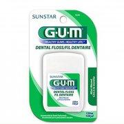 Зубная нитка GUM DENTAL FLOSS, вощенная, 55 м