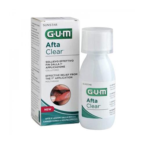 Ополаскиватель GUM Afta Clear от стоматита, 120 мл