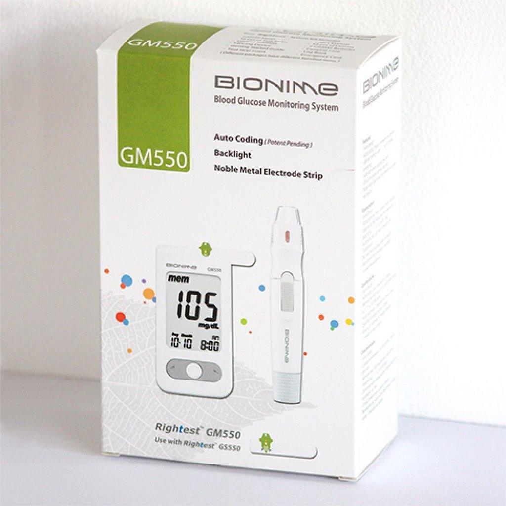 Глюкометр Bionime GM550