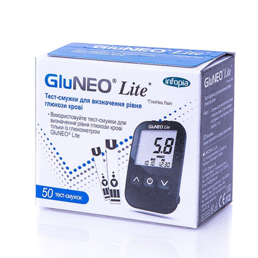 Глюкометр GluNeo Lite, Infopia