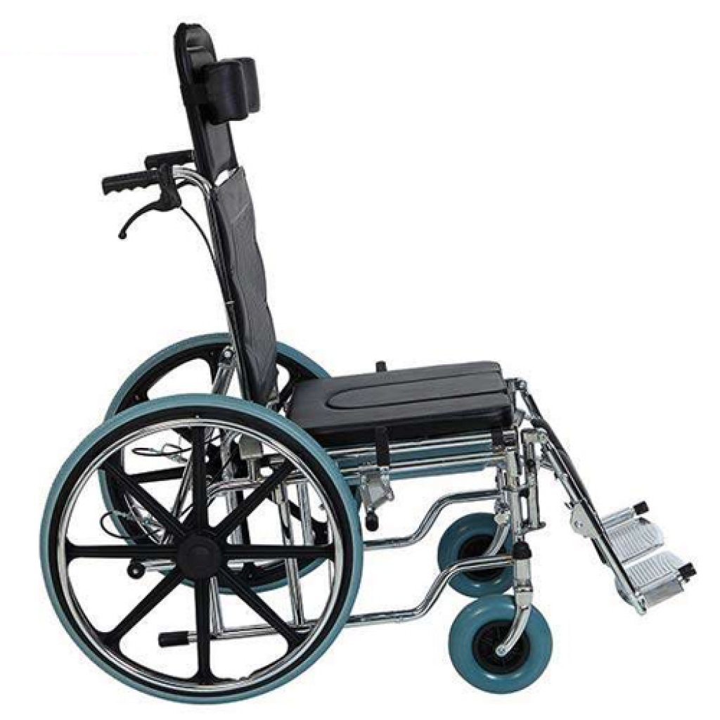 Инвалидная коляска Heaco Golfi-4 с санитарным оснащением