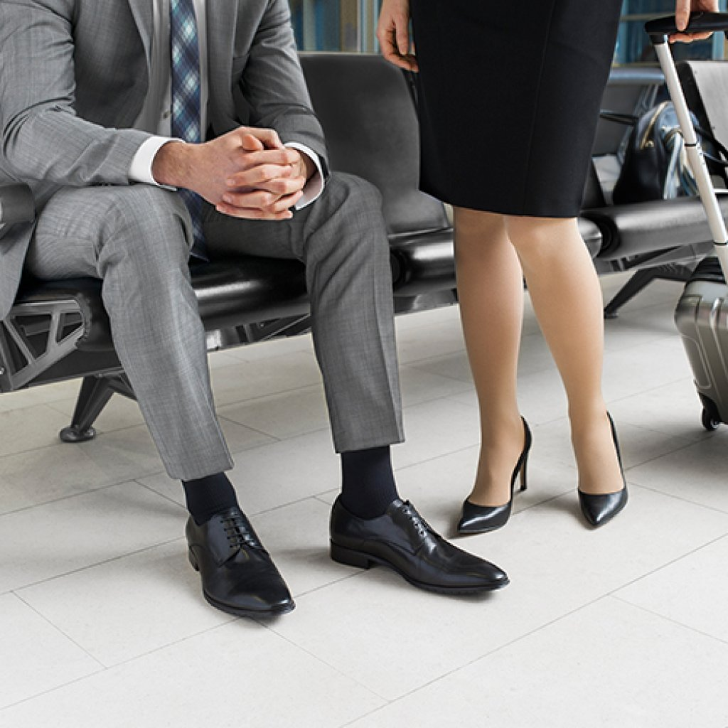 Компрессионные чулки Belsana Classic E 2 класс, закрытый / открытый носок
