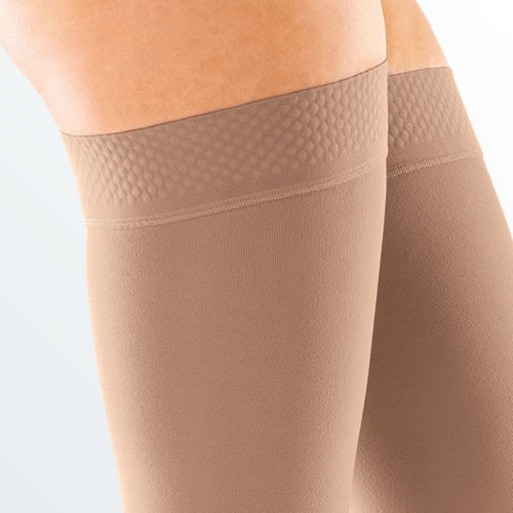 Чулки Mediven Forte с силиконовой резинкой 3 класс, открытый носок