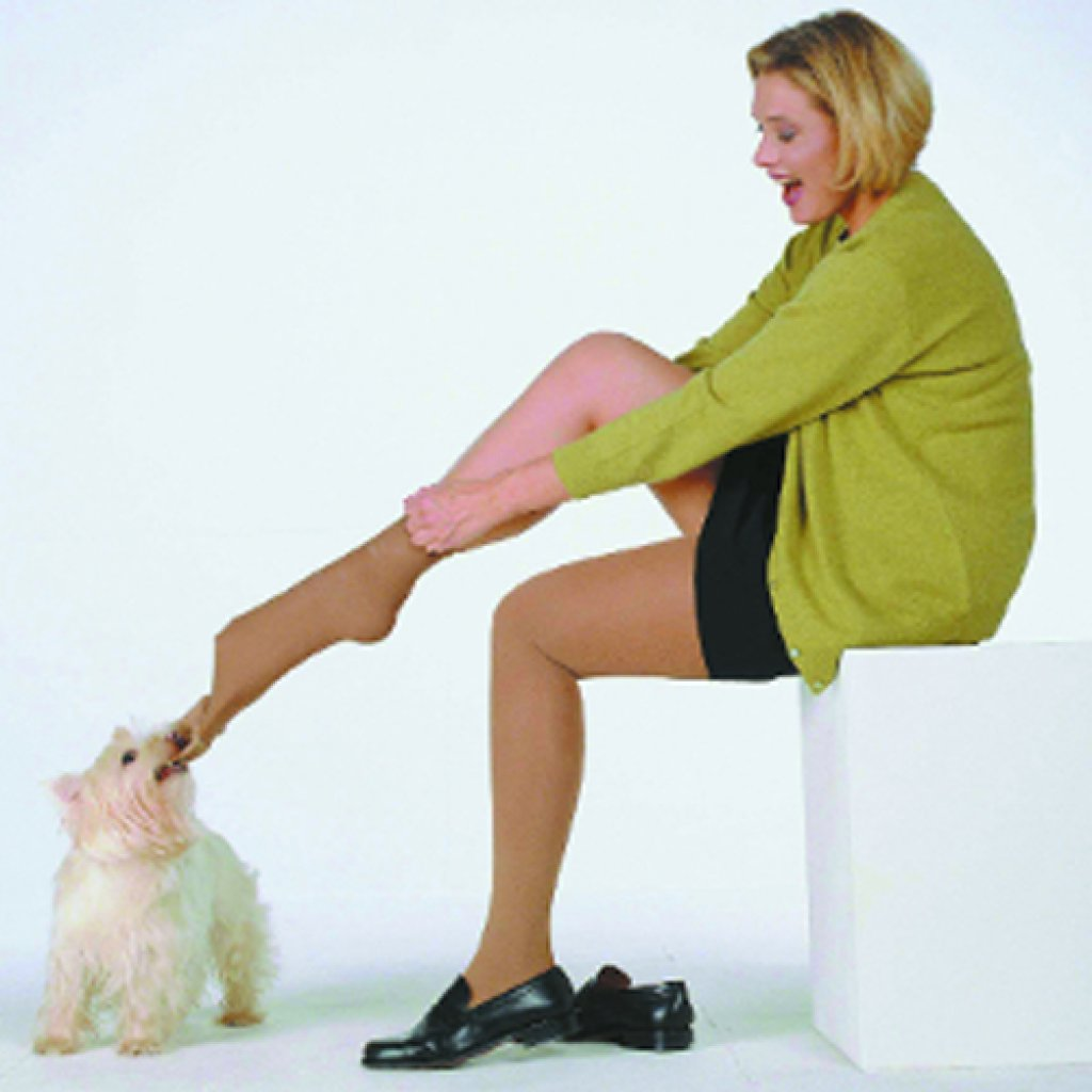 Чулки Mediven Forte с силиконовой резинкой 2 класс, открытый носок
