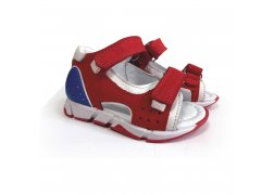 Дитячі ортопедичні босоніжки, червоні Ozpinarci (Оспінарджі) 150-05