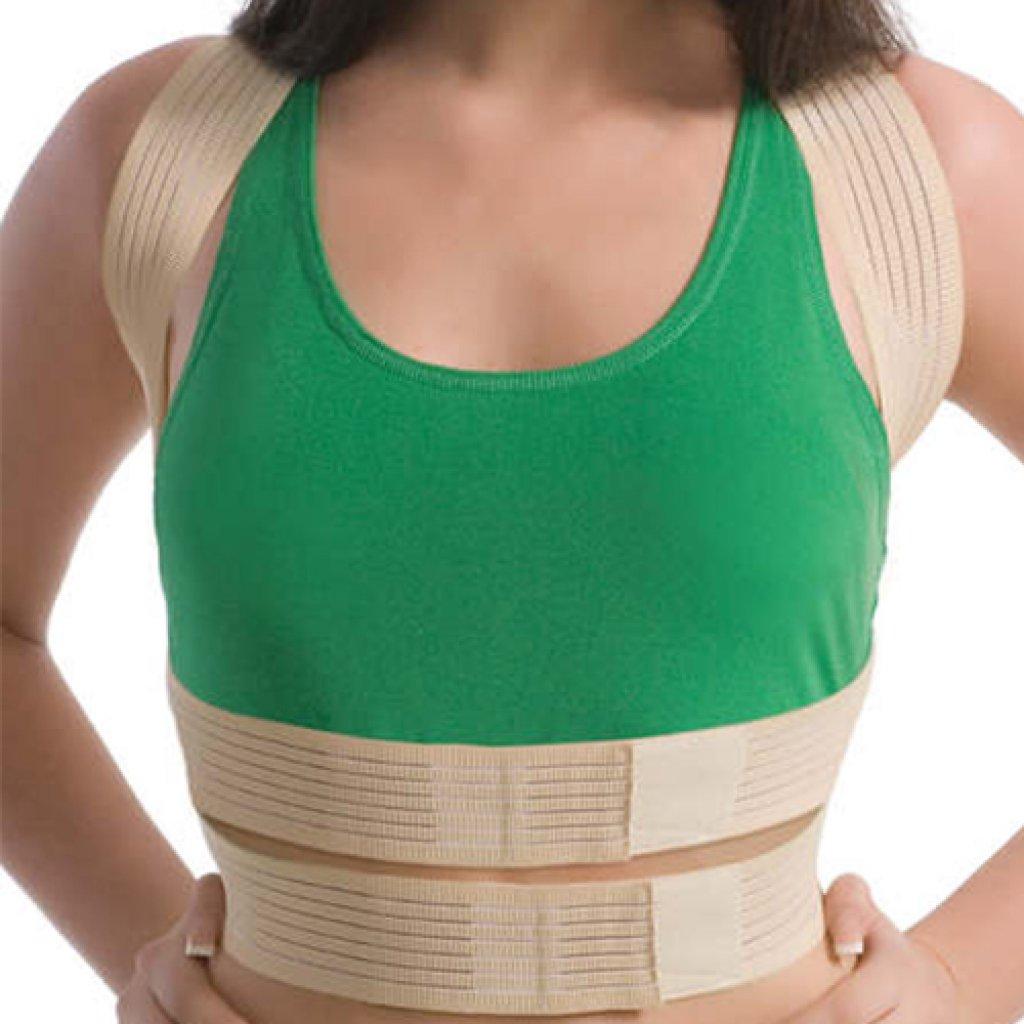 Корректор осанки с ребрами жесткости Med textile 2011