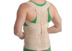Корсет грудо-поперековий з 2 ребрами жорсткості Med Textile 3001