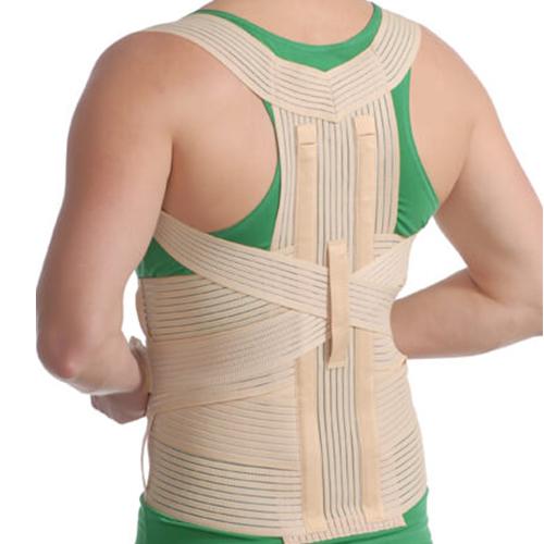 Корсет грудо-поясничный с 2 ребрами жесткости MedTextile 3001