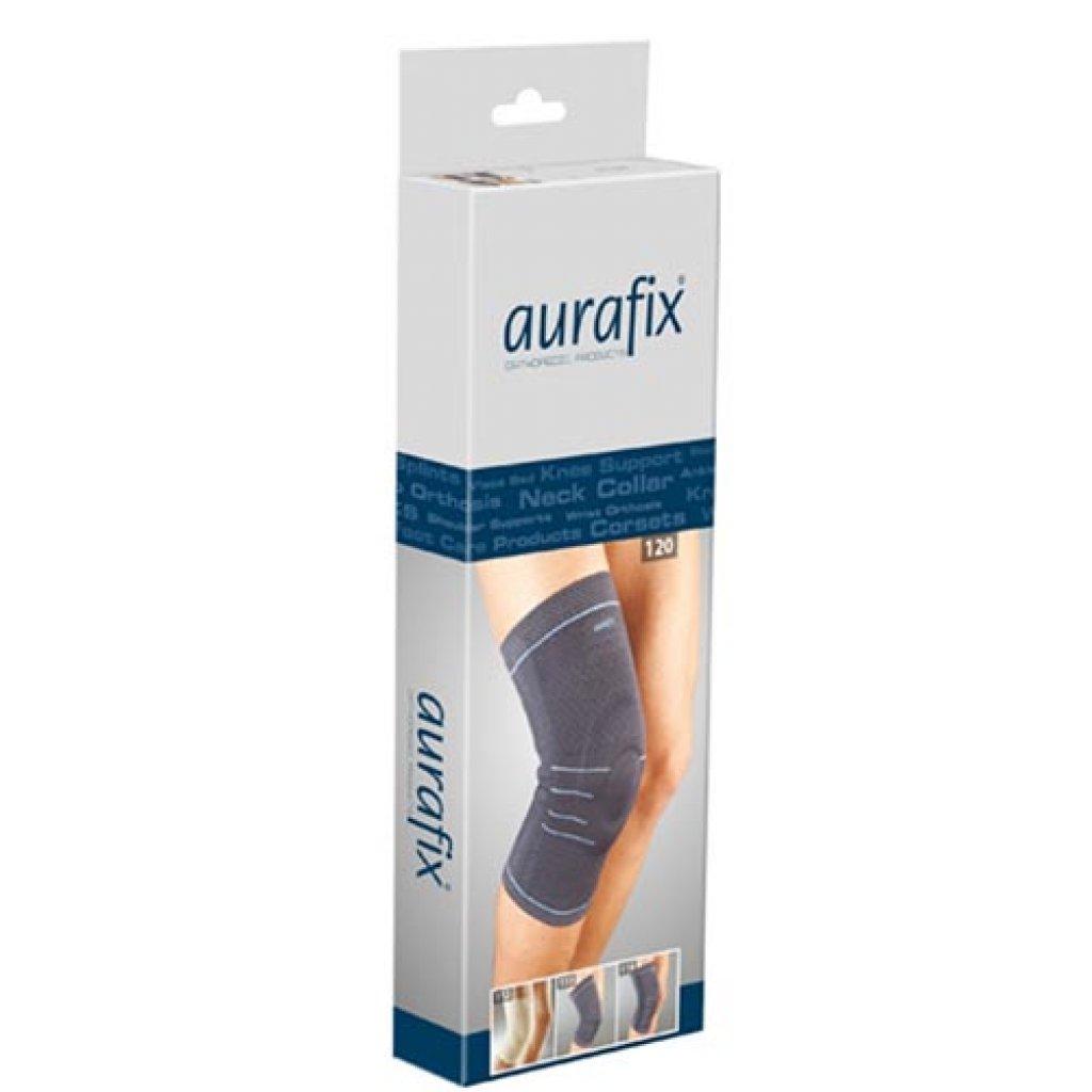 Наколенник Aurafix REF: 114 с 4 ребрами жесткости и силиконовым кольцом