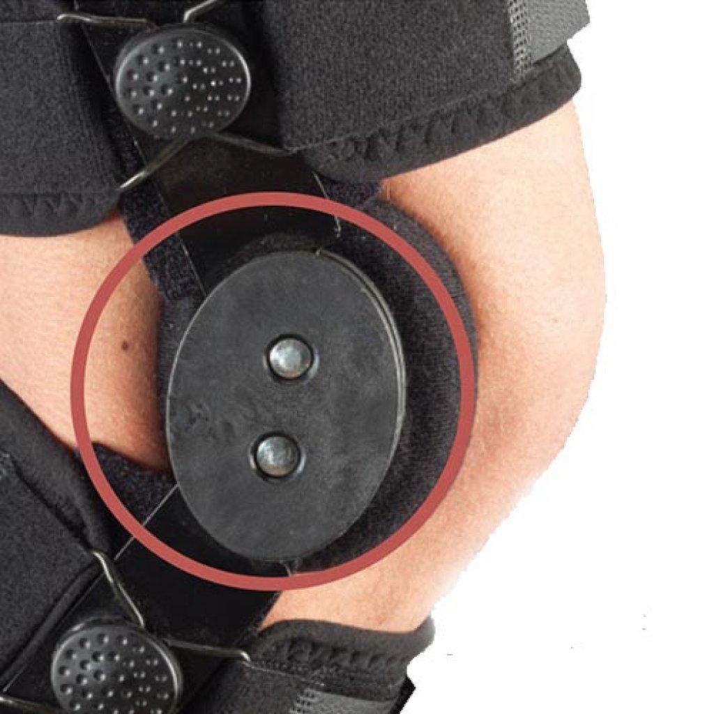 Ортез на колено с шарнирами Aurafix 170