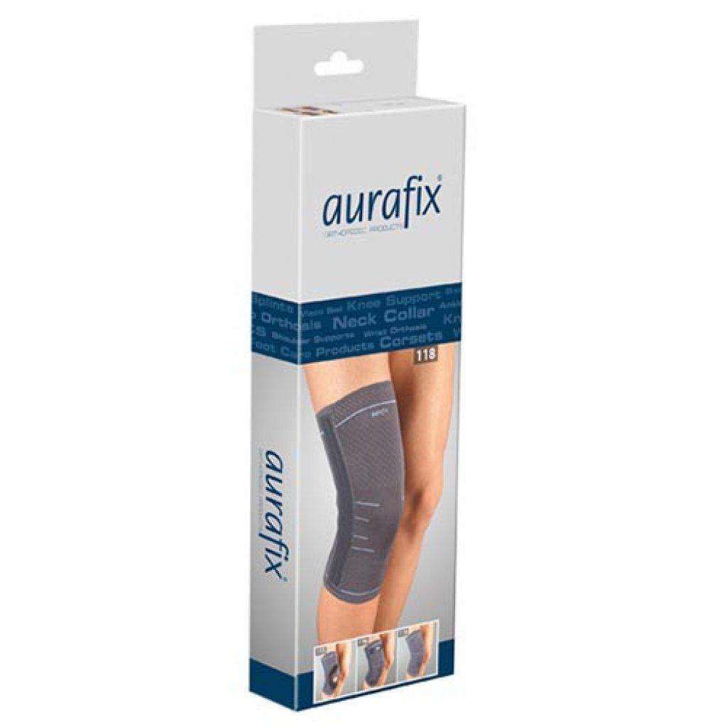 Еластичний наколінник Aurafix REF: 118 с 4 ребрами жорсткості