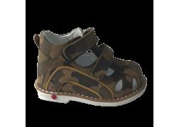 Дитячі ортопедичні босоніжки Ozpinarci (Оспінарджі) 130-02, коричневий камуфляж