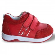 Детские ортопедические кроссовки демисезон, красные Ozpinarci (Оспинарджи) 109-01