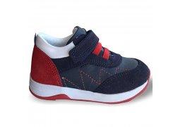 Детские ортопедические кроссовки демисезон, синий/красный Ozpinarci (Оспинарджи) 104-04