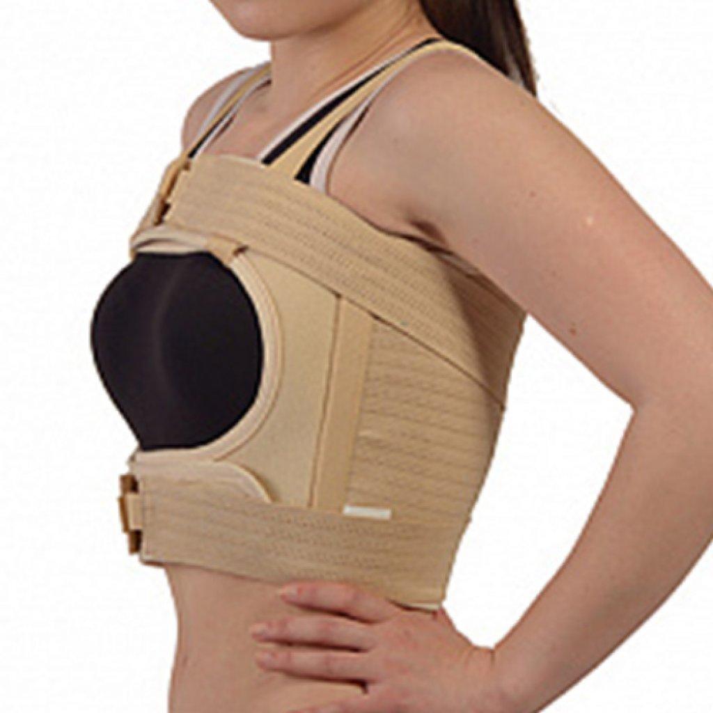 Послеоперационный бандаж Алком 2027 для грудной клетки женский