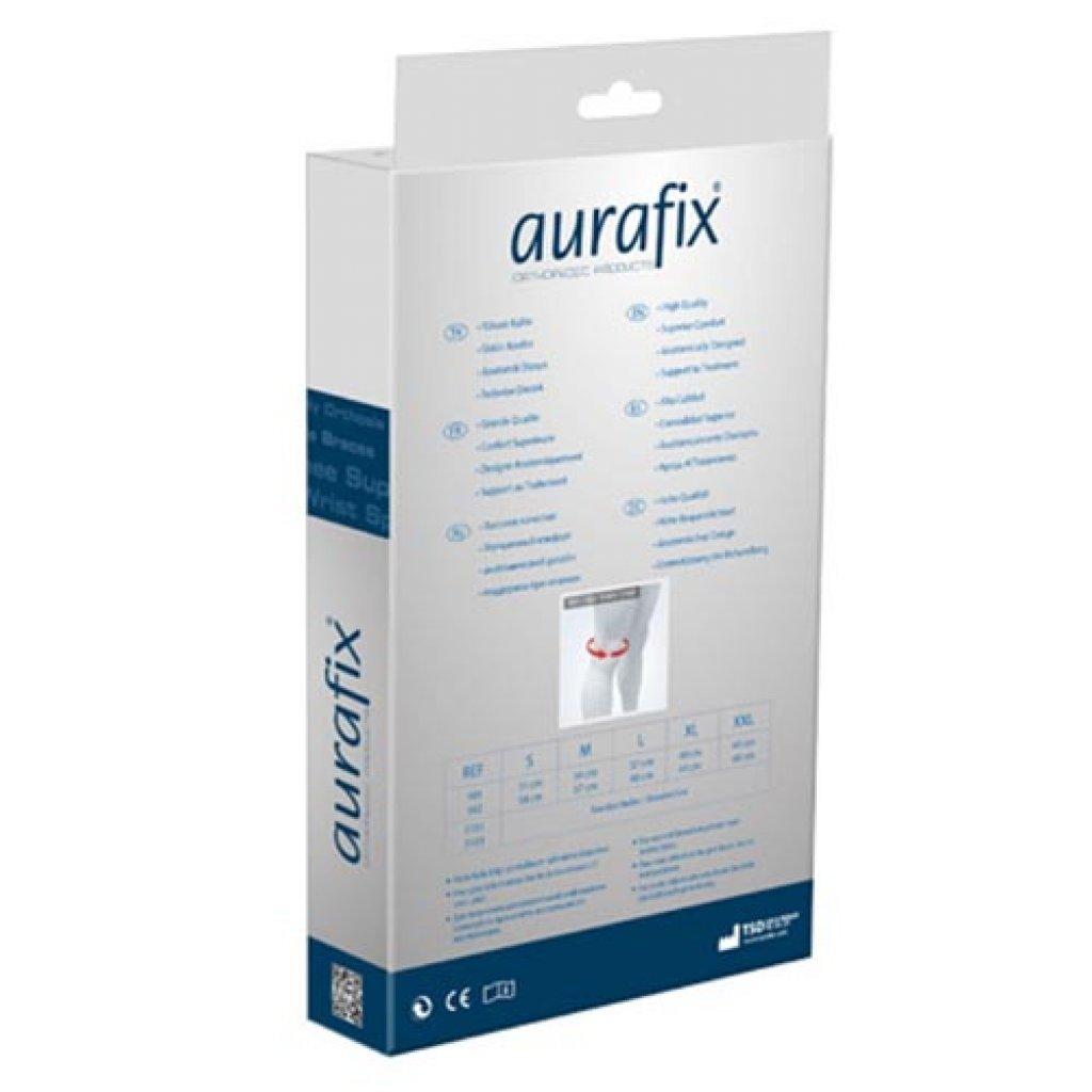 Наколенник Aurafix REF: 101 с открытой чашечкой и силиконовым кольцом