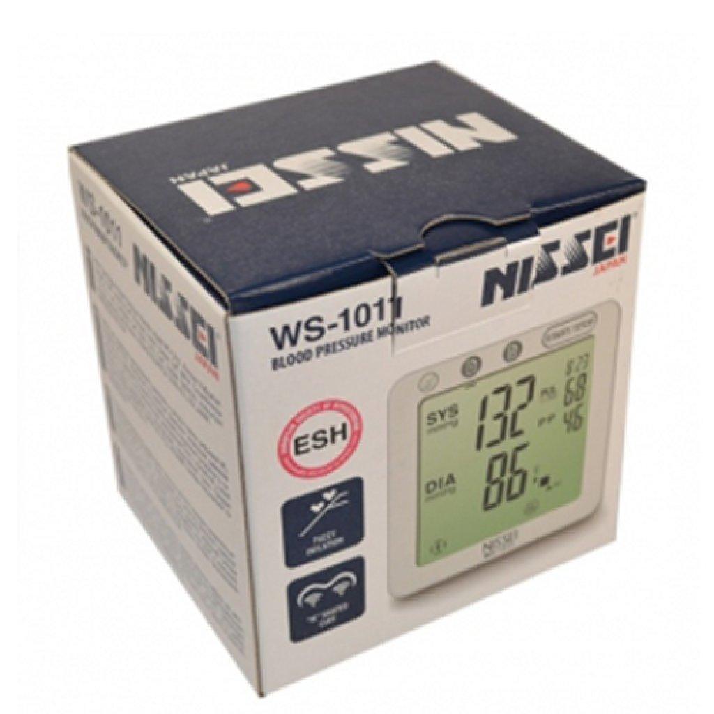 Автоматический тонометр Nissei WS-1011 на запястье