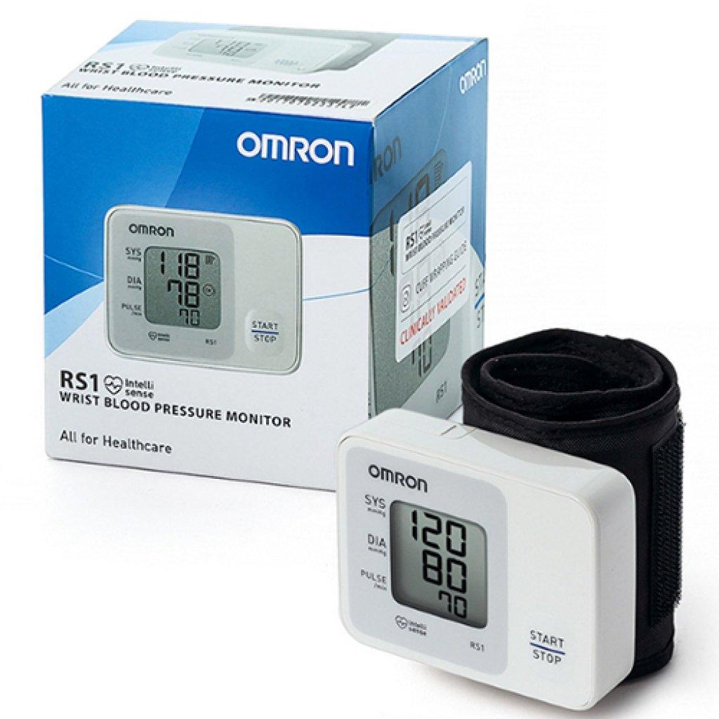 Автоматический тонометр Omron RS1 на запястье