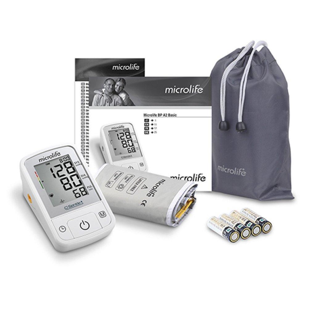 Автоматический тонометр Microlife BP A2 Basic с адаптером