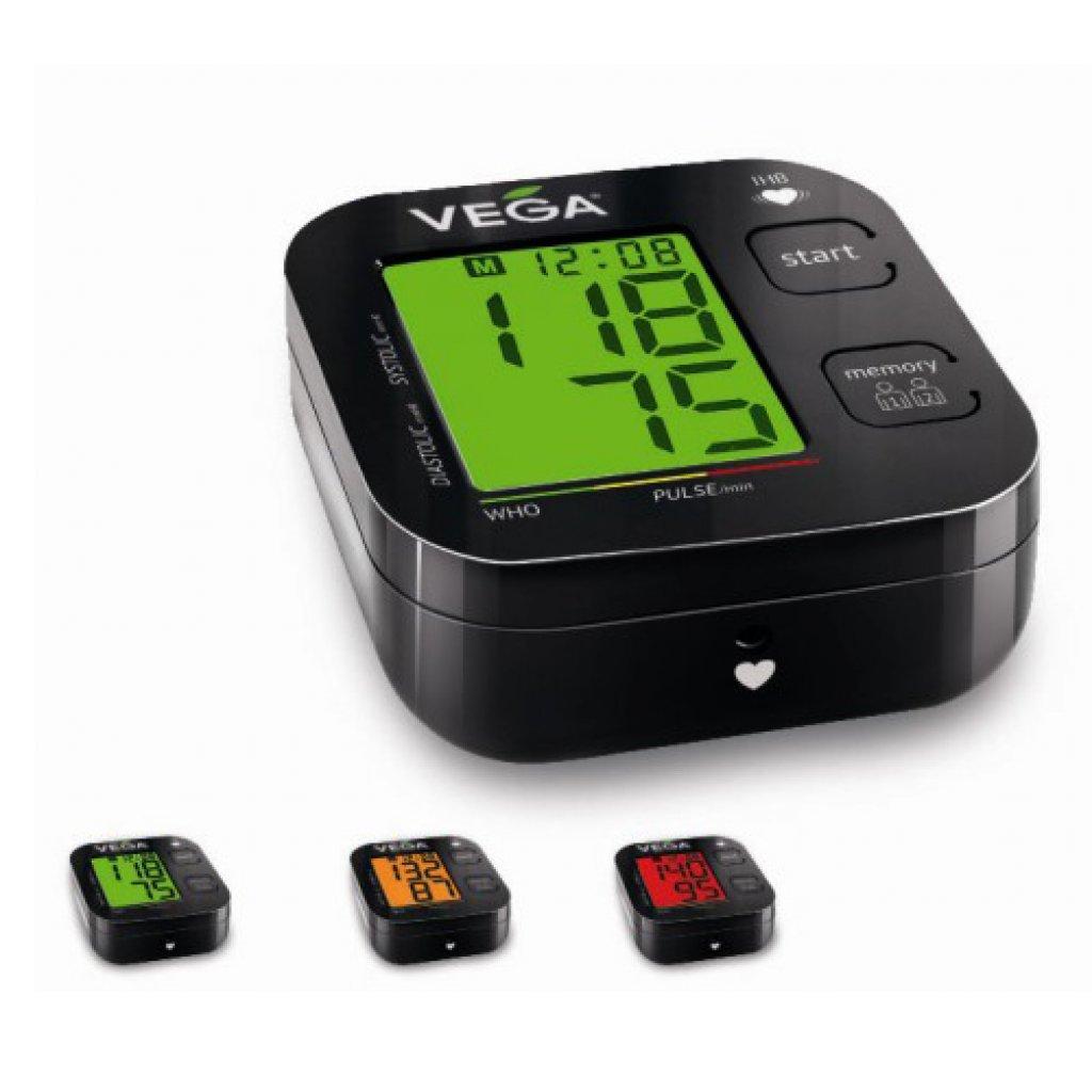 Автоматический тонометр Vega VA-310 с цветовым индикатором