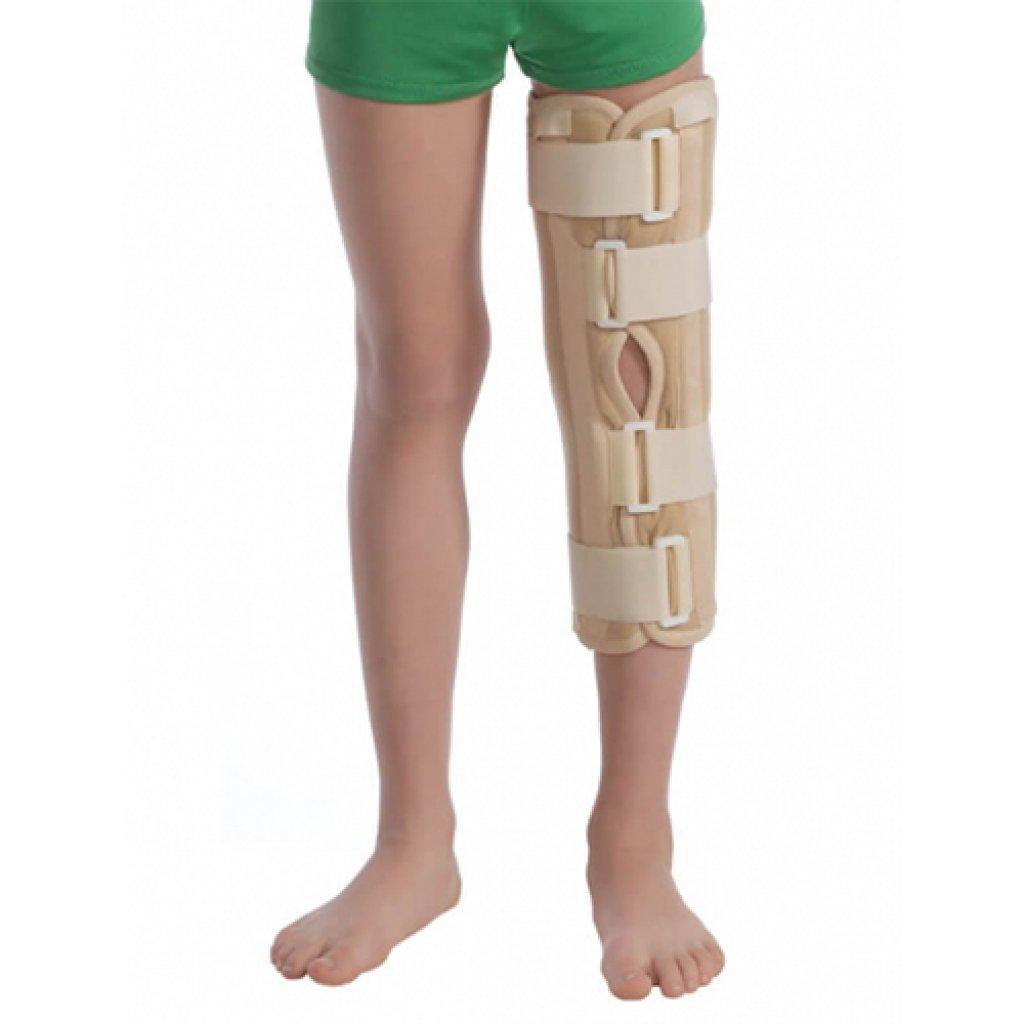 Бандаж на колено с ребрами жесткости Тутор МТ6112, Med textile